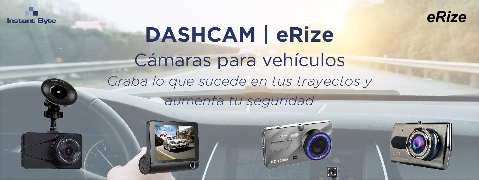 Dashcam de Erize, las cámaras para vehículos que aumentan tu seguridad en carretera
