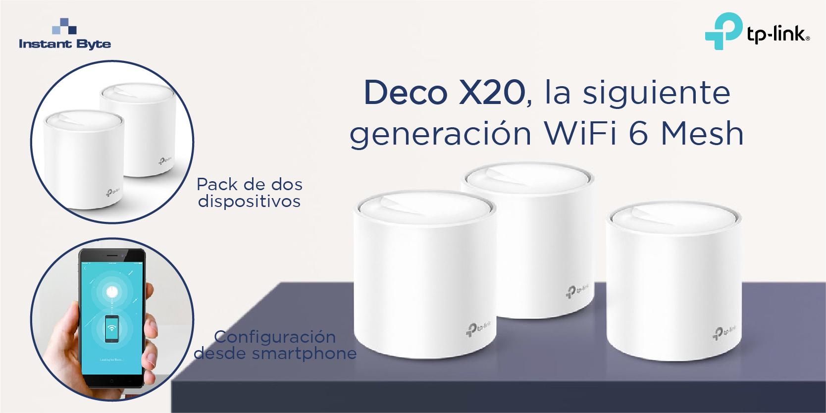 DECO X20 de TP-Link, la siguiente generación WiFi 6 Mesh