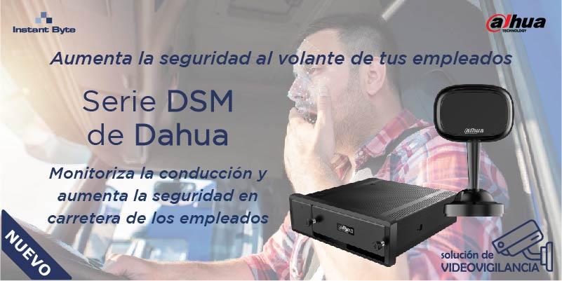 Aumenta la seguridad al volante de tus empleados: Serie DSM de Dahua