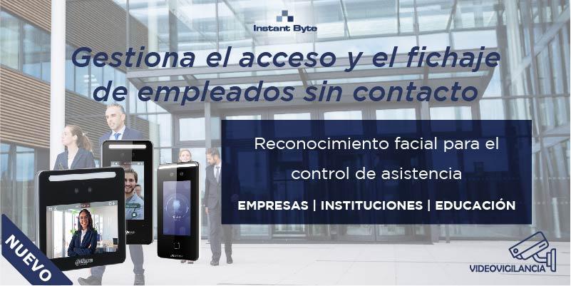 Gestiona el acceso y el fichaje de empleados sin contacto físico