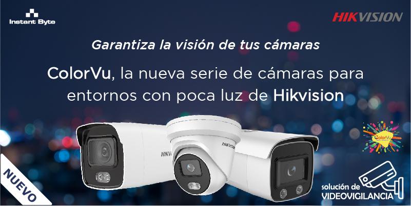 Garantiza la visión de tus cámaras: ColorVu, la nueva serie de cámaras para entornos con poca luz de Hikvision