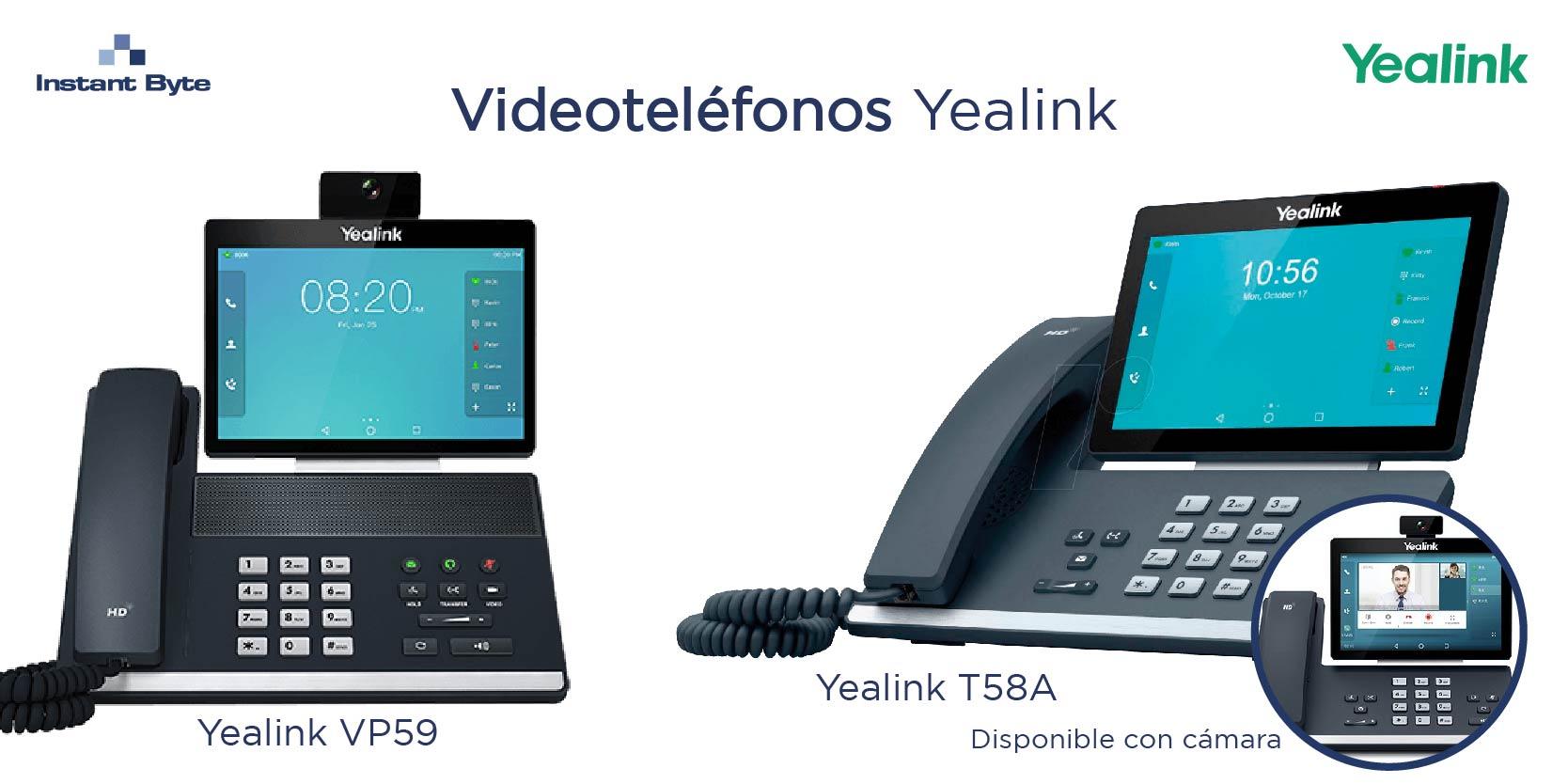 Soluciones y beneficios de los videoteléfonos de Yealink