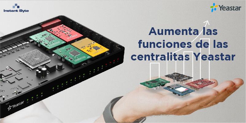 Aumenta las funciones de las centralitas Yeastar con los módulos personalizables