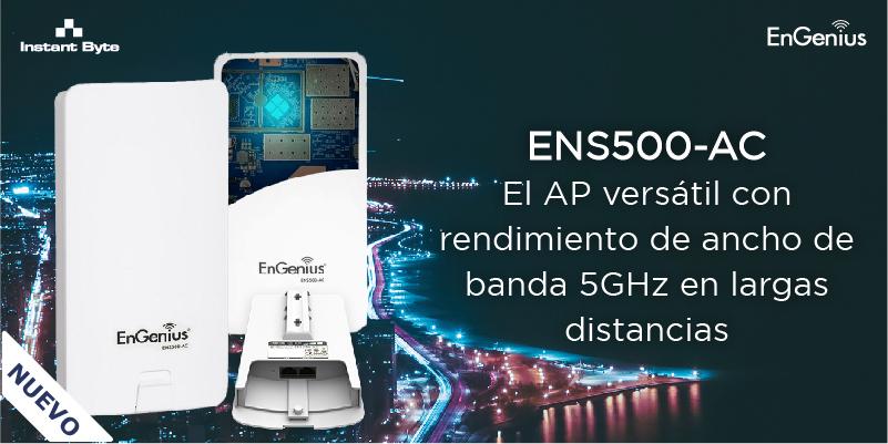 ENS500-AC de EnGenius: AP versátil para largas distancias en 5GHZ