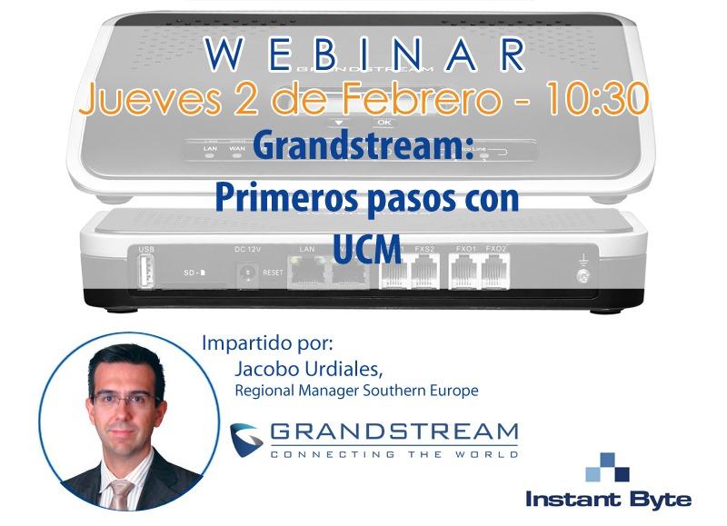 grandstream ucm webinar febrero 2017 redes y webinar